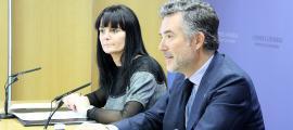 Mònica Bonell i Vicenç Mateu van presentar ahir els actes commemoratius.