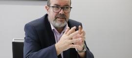 El cap de l'APDA, Joan Crespo.