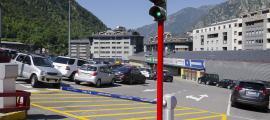 L'aparcament del Fener.