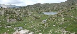 Vista de la vall del Madriu.
