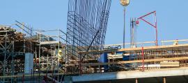 Durant l'any passat es van visar 110.849 m2 d'obra nova.
