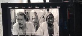 Casamajor, a l'esquerra, en el paper de Savigny, oficial mèdic a bord de la 'Méduse'. El rodatge, fins al 24 d'agost a Mallorca.