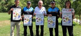 La campanya es va presentar ahir al nou parc caní de la Seu d'Urgell.