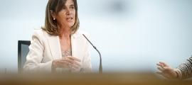 """La ministra Vilarrubla va remarcar que l'educació """"és un dret i és un deure""""."""