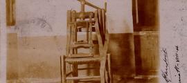 La postal autografiada de Guillem de Plandolit, datada l'11 d'agost del 1904 i destinada a Antonio Riera Villoret.