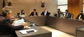 La sessió de Consell de Comú d'Ordino d'aquest dijous.