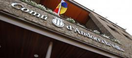 La façana del Comú d'Andorra la Vella.