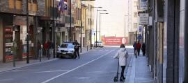 La policia ha fet sis intervencions amb patinets implicats els últims vuit mesos.