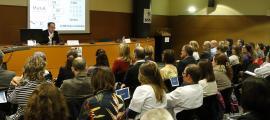 Miguel Leturia va ser el segon ponent de la jornada tècnica celebrada ahir.