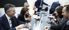 La ministra de Turisme, Verònica Canals, va estar ahir a Fitur.