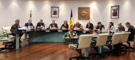 Un moment de la sessió de consell de comú celebrada aquest dijous a Encamp.
