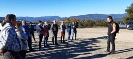 La Fundació Privada Integra Pirineus va convocar els donants al Pla de les Forques per explicar-los els seus projectes.