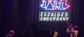 El trompetista Paolo Fresu i el pianista Uri Caine en l'única edició de l'Andorra Jazz Escaldes-Engordany, la del 2017.