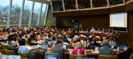 Seminari del Consell d'Europa on s'ha ratificat l'adhesió d'Andorra a la xarxa.
