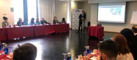 Un moment de l'assemblea de l'Andorra Convention Bureau.
