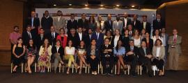 Els participants a la conferència de l'aigua celebrada a Santo Domingo.