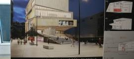 El projecte presentat per l'arquitecte Marc Monegal va quedar en quarta posició al concurs d'idees.