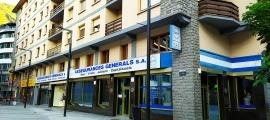 La façana d'Assegurances Generals.