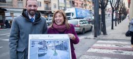 Un nou tram de l'avinguda Tarragona tindrà una mitjana i un carril bici