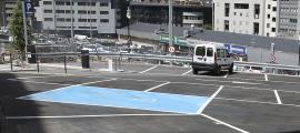 Es van concedir 67 targetes d'aparcament per a persones amb mobilitat reduïda.