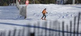 Imatge de les pistes d'esquí del Principat durant aquesta temporada d'hivern.