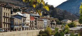 Vista de Martinet de Cerdanya, refugi pandèmic per a la família del Jordi i la Marta.
