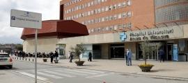 Imatge de l'hospital Arnau de Vilanova, de Lleida.