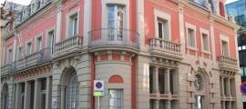 L'edifici de la institució, on s'han fet tasques de desinfecció.