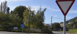 Imatge d'entrada a la capital alturgellenca.