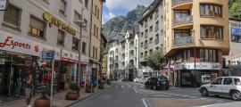 Vista del carrer Príncep Benlloch, un dels que tindrà telegestió.