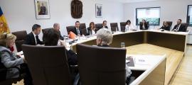 Un moment del consell de Comú d'aprovació del pressupost del 2020.