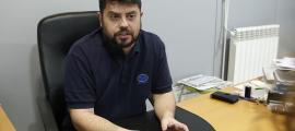 El president de l'AAME, Carles Iriarte.