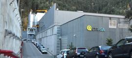 El Centre de Tractament de Residus (CTR) de la Comella.