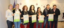 Roda de premsa de presentació de la Festa del medi ambient al Comú d'Encamp.
