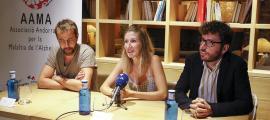 La segona edicio de la Gala benèfica Pere Valls es va presentar ahir, amb la presidenta de l'AAMA, Montserat Valls, al capdavant.