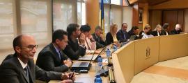 Un Consell de Comú anterior al celebrat ahir a la Massana.
