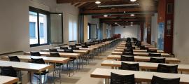 Les aules del centre cultural Les Monges s'ompliran avui d'estudiants.