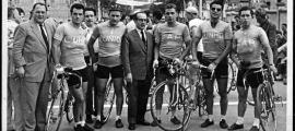 Participants de la Copa Seguros la Unión. La Seu d'Urgell, dècada de 1950.