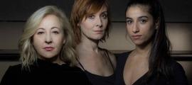 Les tres protagonistes de 'Prostitución': Carmen Machi, Nathalie Poza i Carolina Yuste.