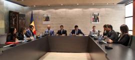 El consell de Comú que va tenir lloc ahir a Ordino.