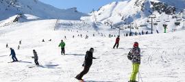 El 7 de desembre va ser el dia de més afluència, amb 10.919 esquiadors.