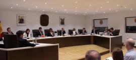 Un moment de la sessió del consell de Comú celebrada ahir a la tarda.