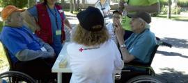 185 persones van realitzar el 2018 tasques de voluntariat a la Creu Roja.