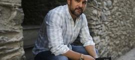 Christian Garcia presentant la seva primera novel·la 'Finales In-esperados'