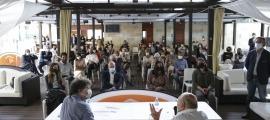 L'AquaLounge d'AnyósPark es va omplir per la presentació de 'De Humana Stultitia'.