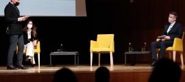 Sílvia Riva i Xavier Espot van presentar al març el Llibre Blanc de la Cultura, del qual penja el Pla estratègic.