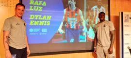 Rafa Luz i Dylan Ennis, ahir.