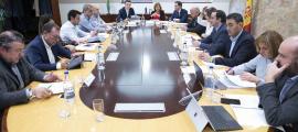 La reunió de cònsols d'ahir va tenir lloc al comú d'Andorra la Vella.