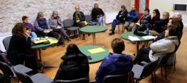 La reunió informativa que va fer l'associació Lo Pedrís.
