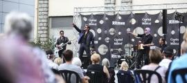 El francès Johnny Vegas, clònic de Johnny Halliday, va actuar al Ritmes de la capital el 13 d'agost.